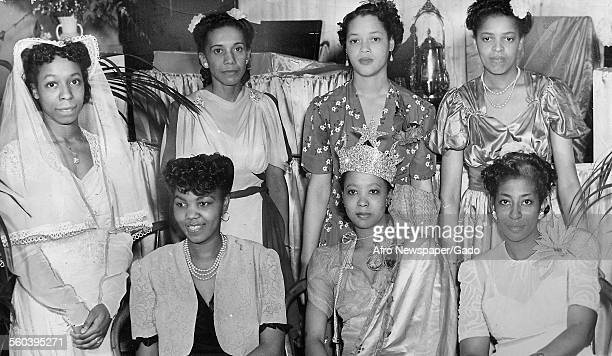 Students of the Madame CJ Walker beauty school, June 17, 1944.