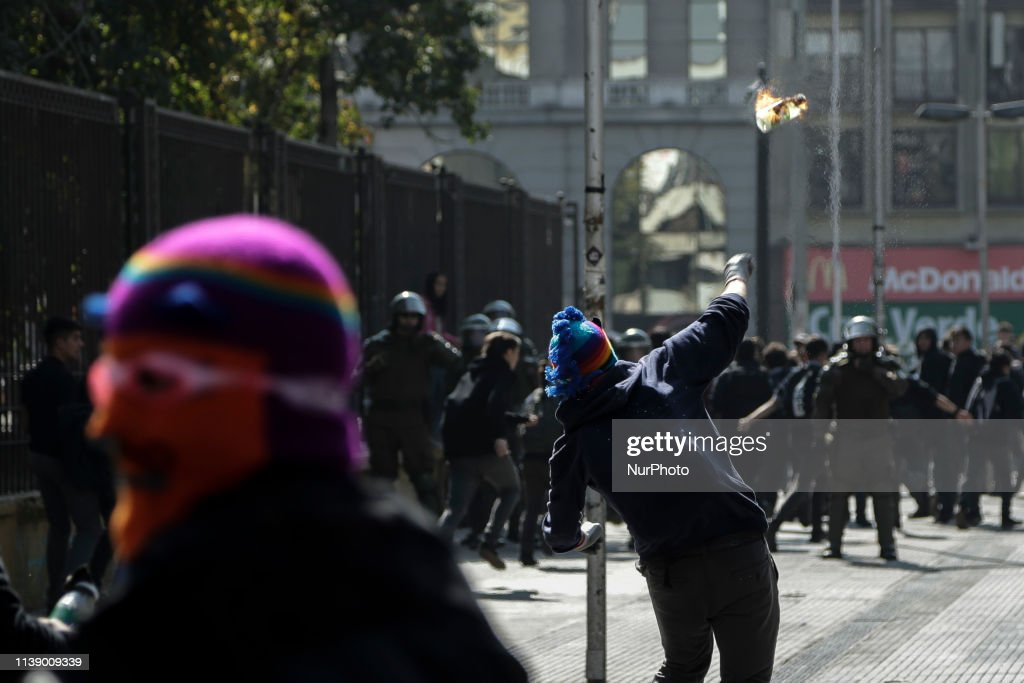 CHL: Student Protest In Santiago