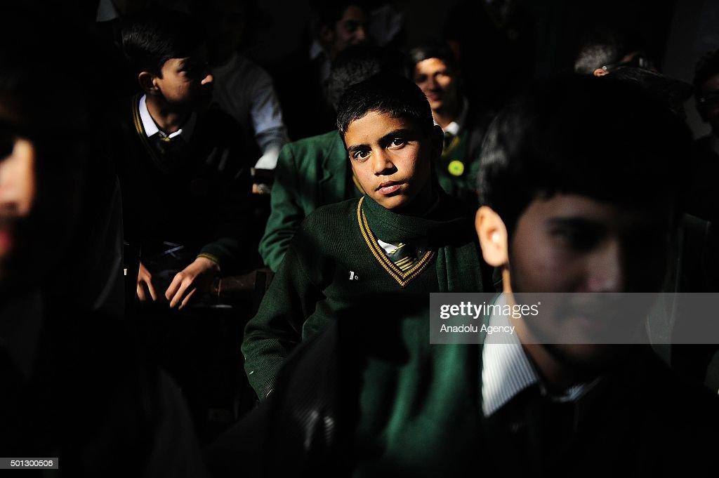 Towards the first anniversary of Peshawar school attack : News Photo