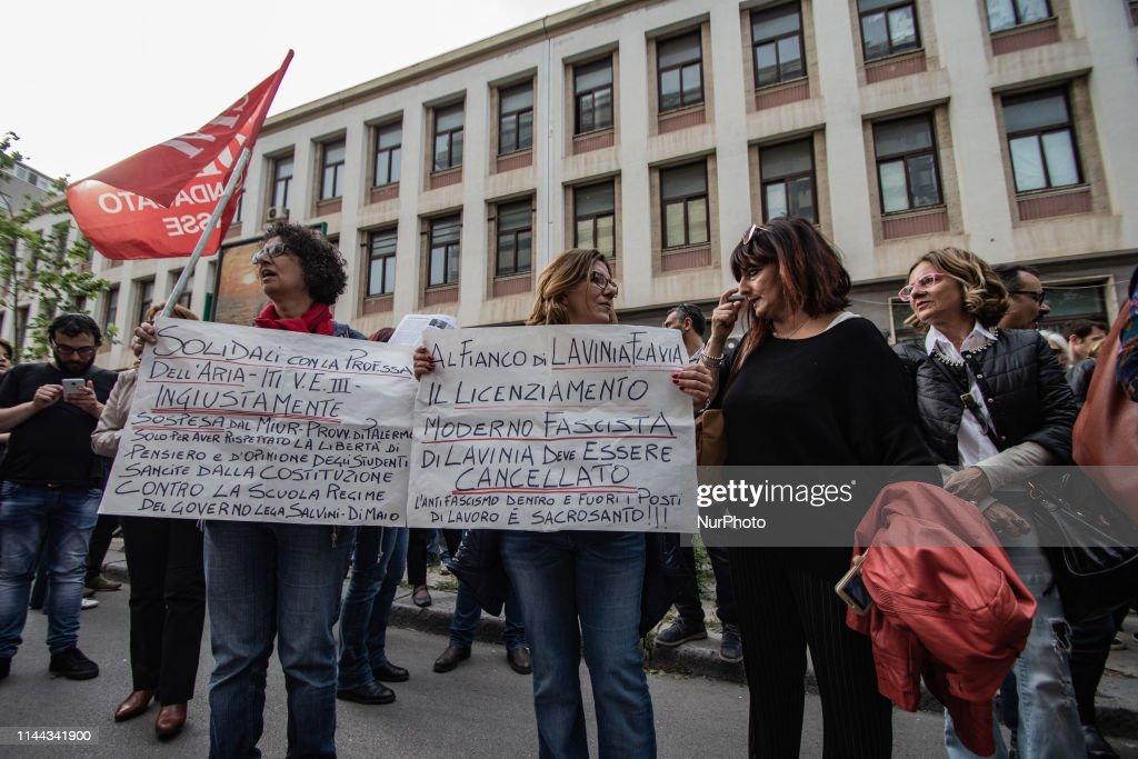 ITA: 'We Suspend Salvini' - Protest In Palermo