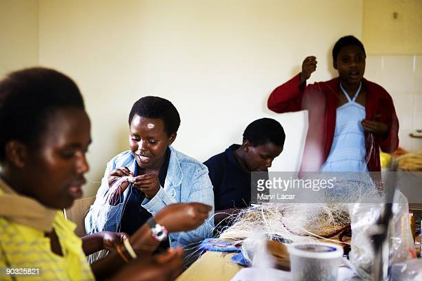 Students participate in afterschool activities inside the Agahozo Shalom Youth Village on March 12 2009 in Rwamagana Rwanda The ASYV provides food...