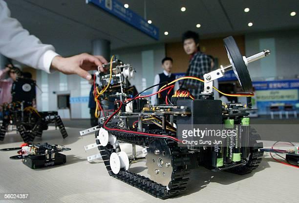 South Korea Hosts The 7th International Robot Olympiad Stock Photos