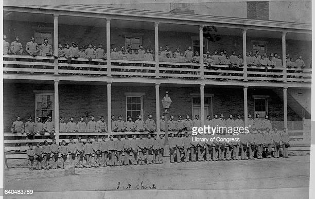 Students pose outside a dormitory building Carlisle Indian School Pennsylvania 1900   Location Carlisle Indian School Carlisle Pennsylvania USA