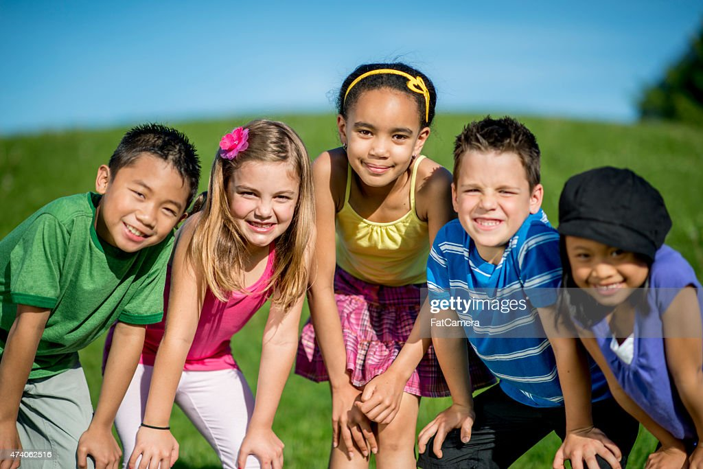 Students Posing Together : Stock Photo