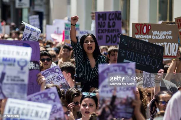 Students protesting against Wolf pack gang abuse verdict Thousands of students marched to the Ministry of Justice on a strike day The Court of...