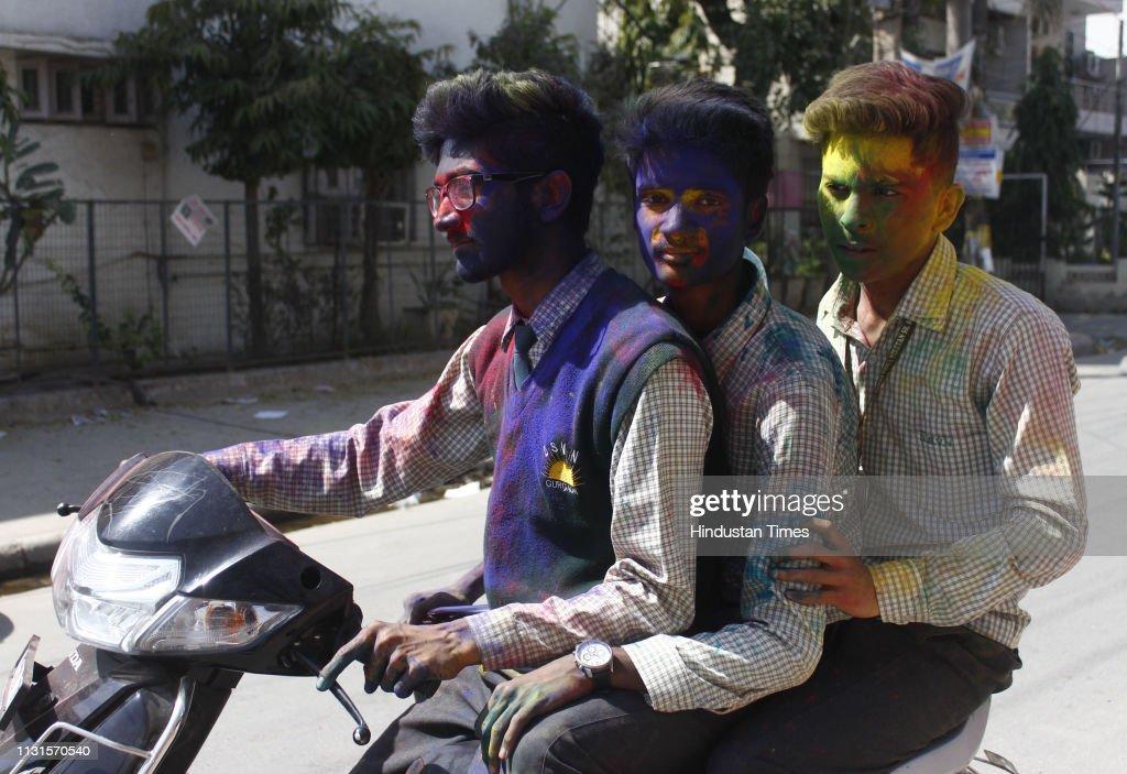 IND: Pre-Holi Celebrations