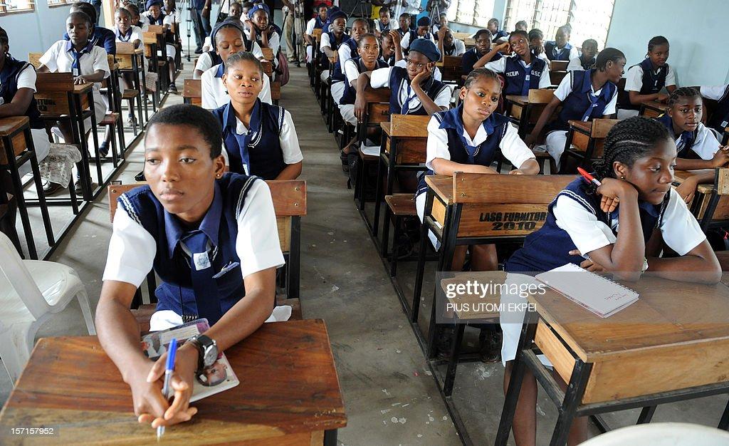 NIGERIA-THEME-EDUCATION : News Photo