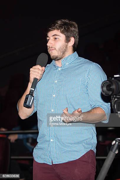Students speak at 'TheWrap's Breaking into the Business Live' on December 7 2016 in Alhambra California