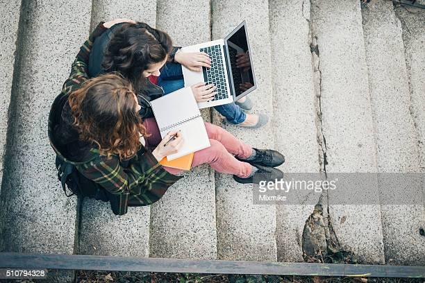 Studenten studieren