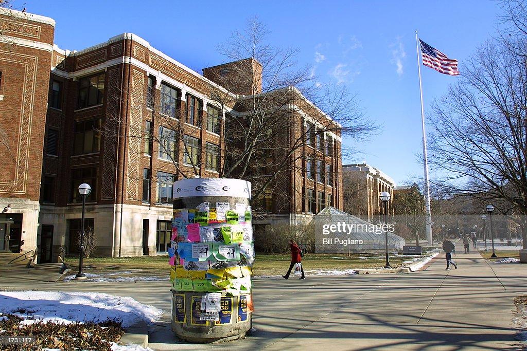 Exterior View Of The University Of Michigan Campus : Foto di attualità