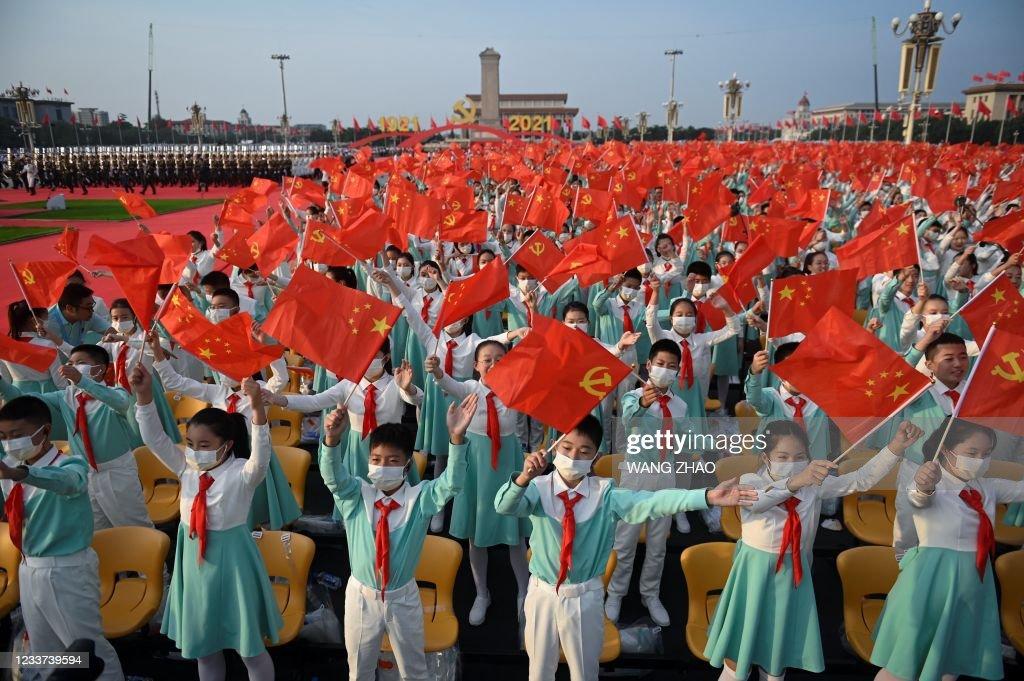 CHINA-POLITICS-PARTY-ANNIVERSARY : News Photo