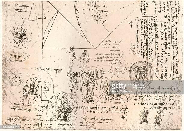 Studies of emblems c1472c1519 From The Literary Works of Leonardo Da Vinci Vol 1 by Jean Paul Richter PH DR [Sampson Low Marston Searle Rivington...