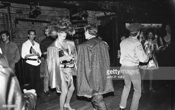 Studio 54 nightclub in New York City circa 1975