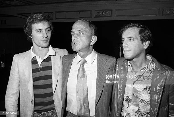 Studio 54 owners Steve Rubell and Ian Schrager attend a goingaway party at the popular disco Tomorrow they begin serving their 3 1/2year prison...