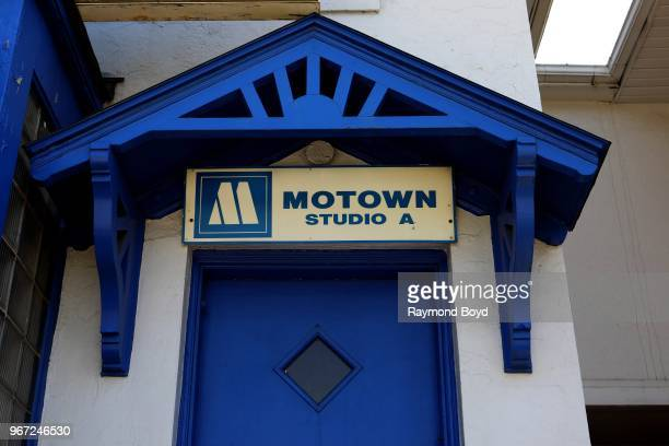 Studio A at Motown Museum original home of Motown Records in Detroit Michigan on May 24 2018
