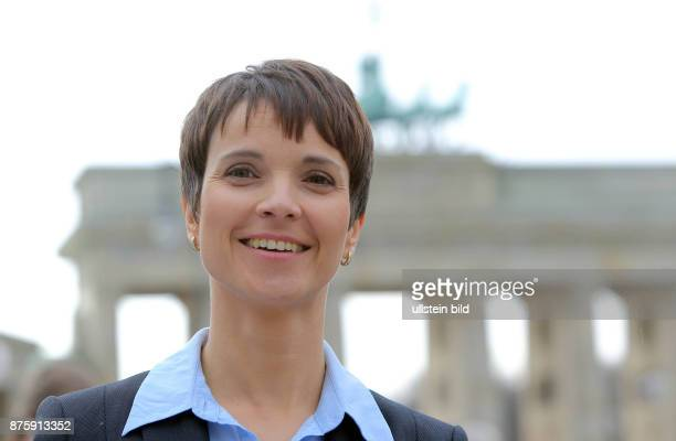 Studio Berlin AfD Vorstand Dr Frauke Petry