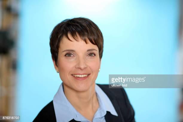 Studio Berlin AfD Vorstand Dr Frauke Petry