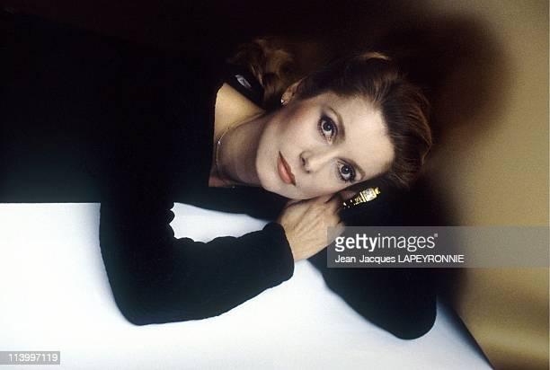 Studio: Catherine Deneuve in France in November, 1985.