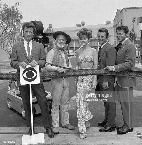 Studio Center Radford gate opening ceremony Features talent Clint Eastwood Paul Brinegar Tina Louise Robert Conrad and Ross Martin Image dated July...
