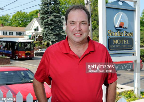 Studio East Motel owner in Ogunquit Gary Latulippe talked about the exchange rate of the US Dollar vs Canadian Loonie and the affect on his business
