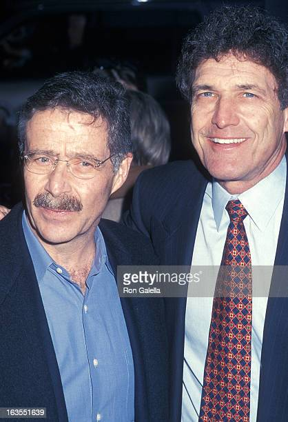 Studio executive Barry Meyer and studio executive Alan F Horn attend the Harry Potter and the Sorcerer's Stone New York City Premiere on November 11...