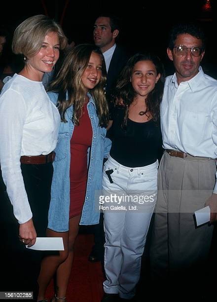Studio executive Ron Meyer and family attending the premiere of 'Bob Roberts' on September 1 1992 at the Writer's Guild Theater in Beverly Hills...