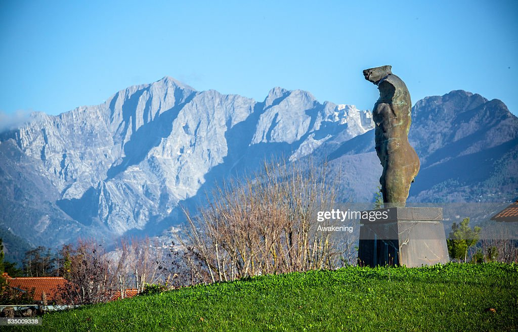 Italy - The making of marble statues in Tuscany : News Photo