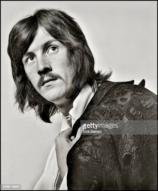 Studio group portrait of John Bonham from Led Zeppelin London December 1968 It was the band's first official photoshoot