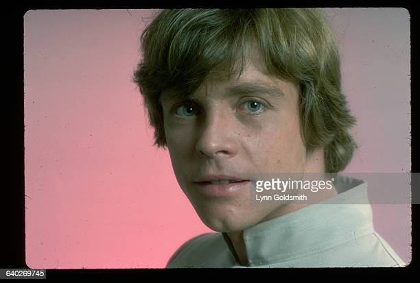 Studio headshot of actor Mark Hamill Undated photograph