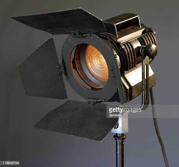 studio light 2 - spotlight film stock photos and pictures