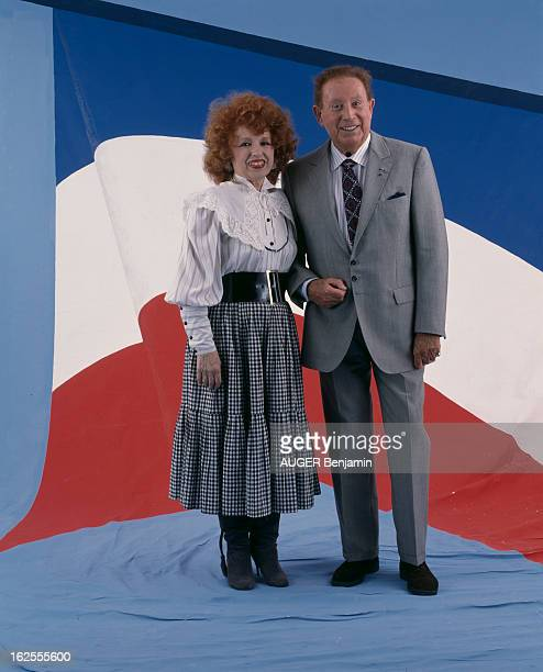 Studio Of Guests Of The Garden Party Of The Elysee En France le 14 juillet 1988 à l'occasion de la garden party au Palais de l'Elysée les...