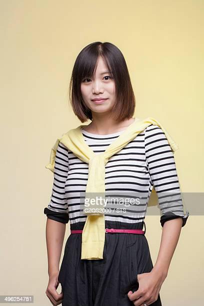 studio photo of Chinese woman