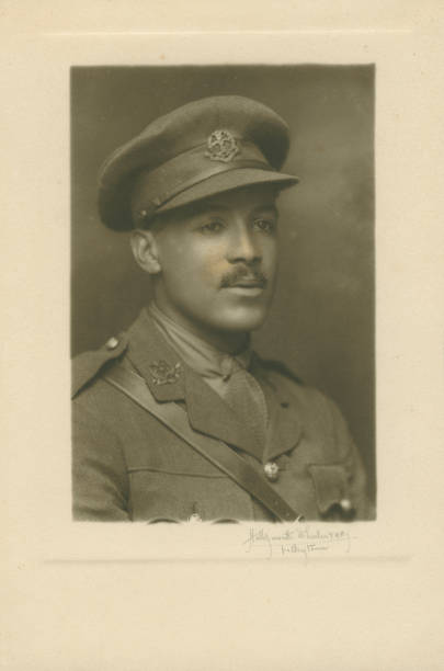 GBR: UK Black History Month: Walter Tull: Family Archives Of A Football Trailblazer And War Hero