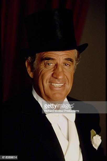 portrait of JeanPaul Belmondo