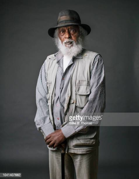 studio portrait of 80 year old black man - 70 year old man stock pictures, royalty-free photos & images