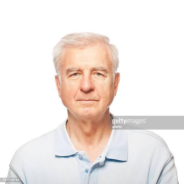 Studio Portrait of a Senior Man