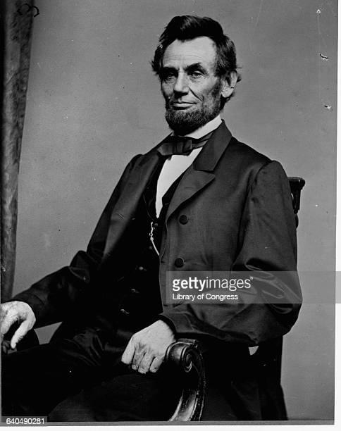Studio Portrait of Abraham Lincoln