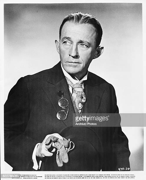 Studio portrait of actor and singer Bing Crosby for Warner Bros Pictures circa 1960