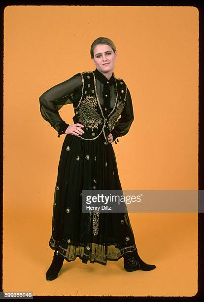 A studio portrait of actress Ami Dolenz daughter of Micky Dolenz from the Monkees
