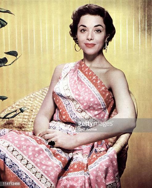 A studio portrait of actress Dana Wynter United States circa 1956