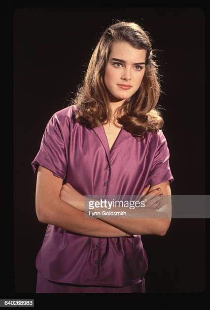 1981 Studio portrait of actress/model Brooke Shields
