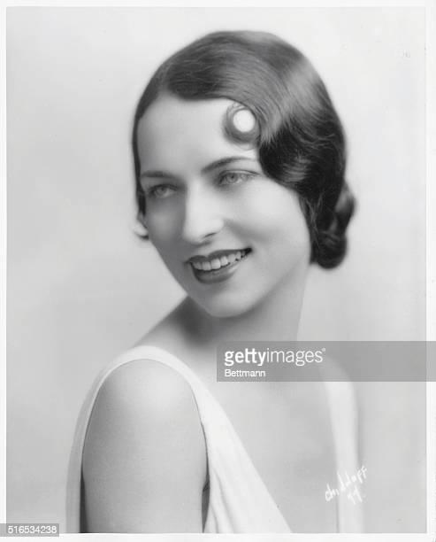 Studio portrait of Agnes Moorehead