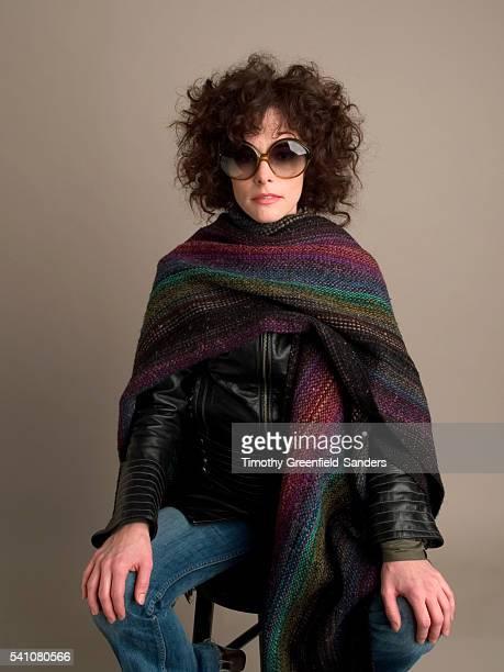 Studio portrait of American actress Parker Posey New York New York February 4 2005