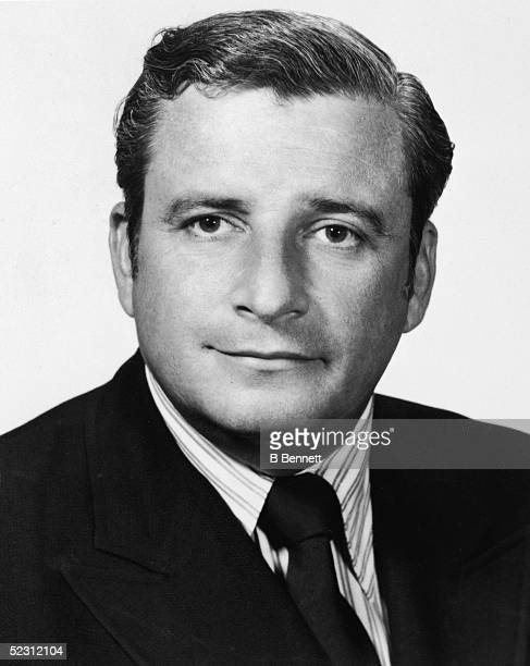 Studio portrait of American football executive Art Modell owner of the NFL team the Cleveland Browns 1960s Modell relocated the Browns to Baltimore...