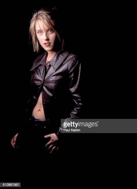 Studio portrait of American musician Liz Phair Chicago Illinois April 15 1998