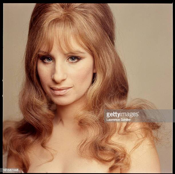 Studio portrait of American singer and actress Barbra Streisand in support of her motion picture 'On a Clear Day You Can See Forever' 1969