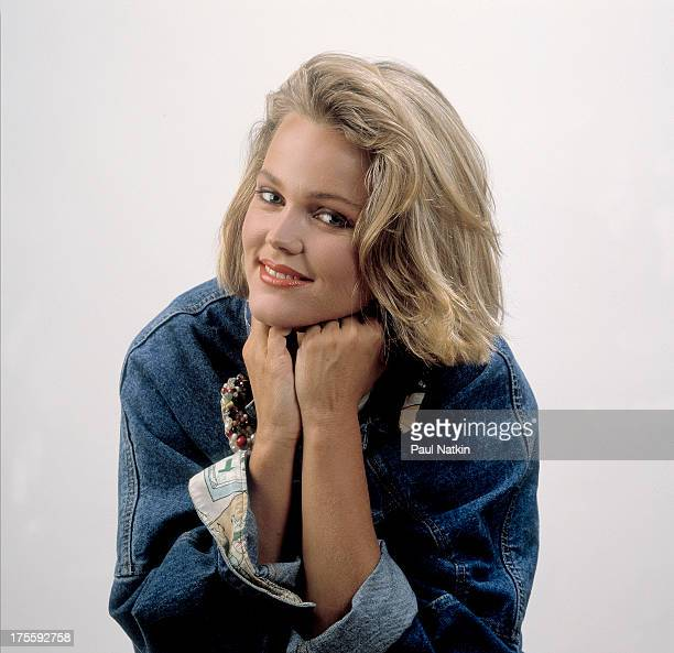 Studio portrait of American singer Belinda Carlisle Chicago Illinois June 25 1986 Carlisle sang with the GoGo's