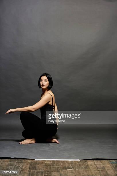 Studio Portrait of Ballet Dancer