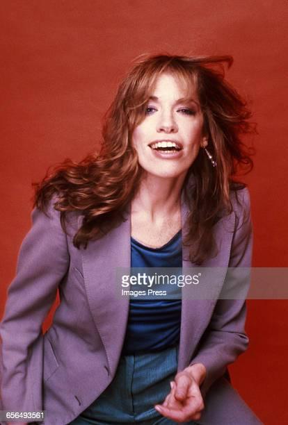 Studio portrait of Carly Simon circa 1981 in New York City