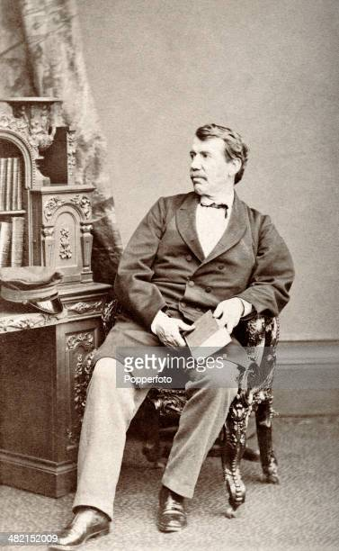 A studio portrait of Dr David Livingstone the pioneer medical missionary in London circa 1860